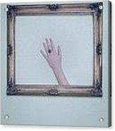 Framed Hand Acrylic Print