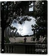 Framing Cloudgate Acrylic Print
