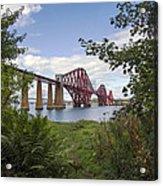 Framing The Forth Bridge Acrylic Print
