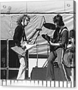 Jamming In Oakland 1976 Acrylic Print
