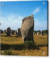 France Brittany Carnac Ancient Megaliths  Acrylic Print