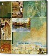 France Unesco World Heritage Poster Acrylic Print