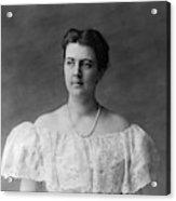 Frances Folsom Cleveland (1864-1947) Acrylic Print
