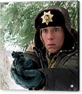 Frances Mcdormand As Marge Gunderson In The Film Fargo By Joel And Ethan Coen Acrylic Print