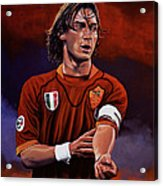 Francesco Totti Acrylic Print