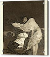 Francisco De Goya Spanish, 1746-1828. Mala Noche. A Bad Acrylic Print