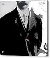 Francisco  Madero Portrait No Location Or Date-2013 Acrylic Print
