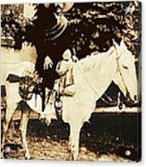Francisco Villa On Horse Perhaps Siete Leguas Unknown Mexico Location Or Date 2013. Acrylic Print