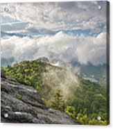 Franconia Notch State Park - New Hampshire White Mountains  Acrylic Print