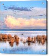 Frank Lake Alberta Acrylic Print