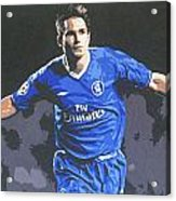 Frank Lampard - Chelsea Fc Acrylic Print