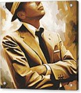 Frank Sinatra Artwork 1 Acrylic Print