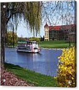 Frankenmuth Riverboat Acrylic Print