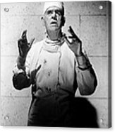 Frankenstein 1970, Boris Karloff, 1958 Acrylic Print