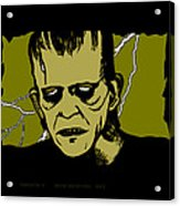 Frankenstein 31' Acrylic Print