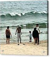 Frankfort Beach Acrylic Print