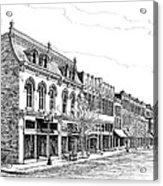 Franklin Main Street Acrylic Print
