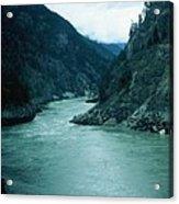 Fraser River Acrylic Print