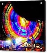 Freak Out ... Electric Rainbow Acrylic Print