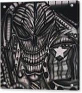 Freakin Rican Acrylic Print