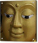 Freckled Gold Buddha Acrylic Print