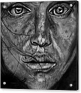 Freckles Acrylic Print