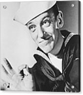 Fred Astaire In Follow The Fleet  Acrylic Print by Silver Screen