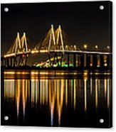 Fred Hartman Bridge Acrylic Print