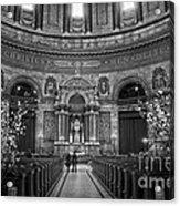 Frederik's Church Interior Acrylic Print