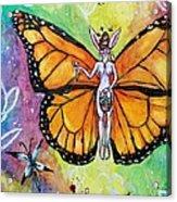 Free As Easter Faith Acrylic Print