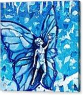 Free As Winter Snow Acrylic Print