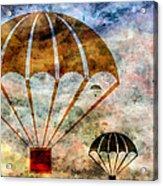 Free Falling Acrylic Print by Angelina Vick