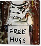 Free Hugs Acrylic Print
