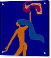 Free Acrylic Print by Meenal C