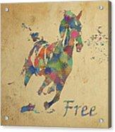 Free Acrylic Print by Soumya Bouchachi