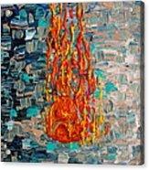 Free Tibet Acrylic Print