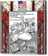 Free Trade Trap Acrylic Print