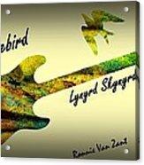 Freebird Lynyrd Skynyrd Ronnie Van Zant Acrylic Print