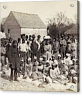 Freed Slaves, 1862 Acrylic Print