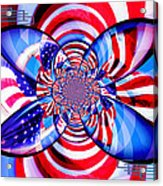 Freedom Abstract  Acrylic Print