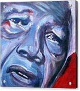Freedom - Nelson Mandela Acrylic Print