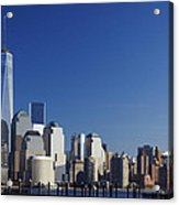 Freedom Tower And Lower Manhattan Acrylic Print