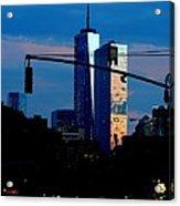 Freedom Tower New York Ny At Dusk Acrylic Print