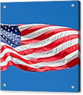 Freedom American Flag Art Prints Acrylic Print