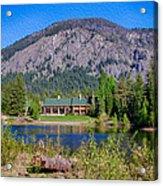 Freestone Inn Lakeside View Acrylic Print