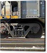 Freight Train Wheels 1 Acrylic Print