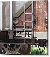 Freight Train Wheels 16 Acrylic Print