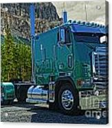 Freightliner Cabover Acrylic Print
