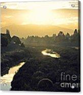 Fremont Dawn Acrylic Print