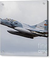 French Air Force Mirage 2000c Fighter Acrylic Print